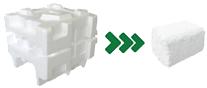 styrofoam densifying