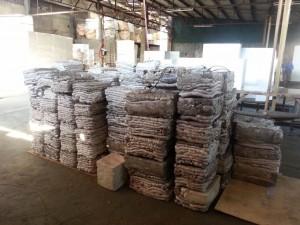styrofoam compactor blocks
